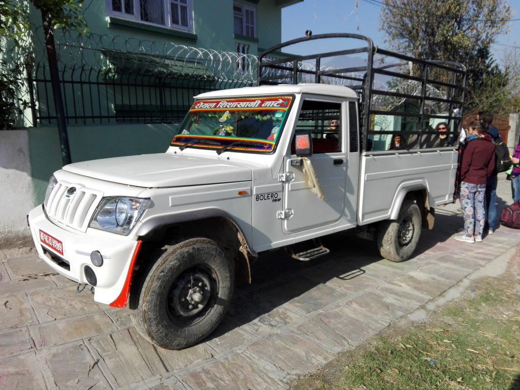 Truck nach Mate - Nepal