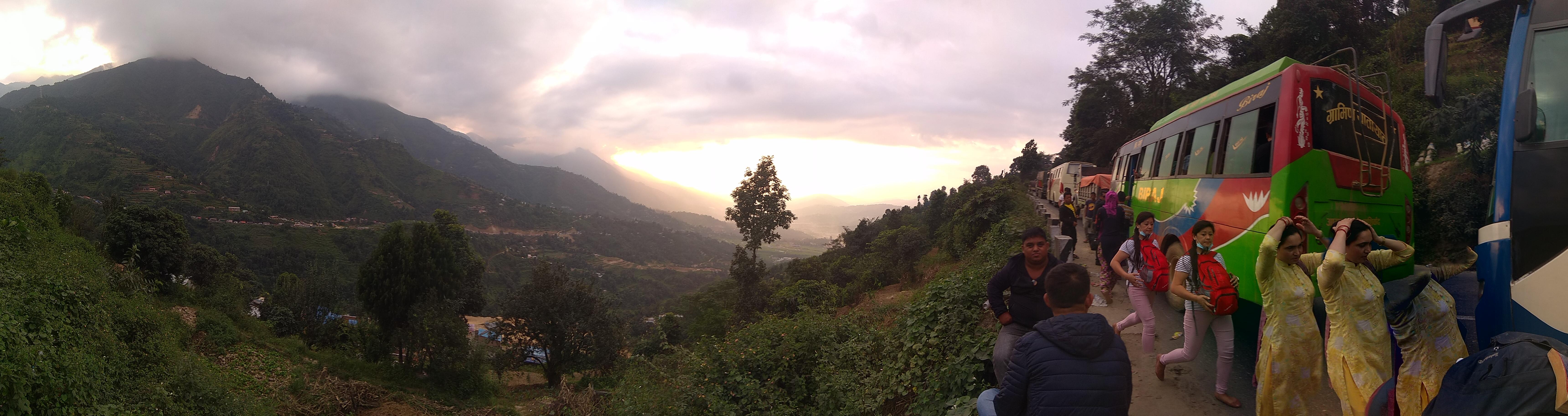 Pokhara nach Kathmandu 2018