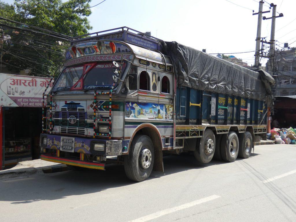 Trucks in Nepal