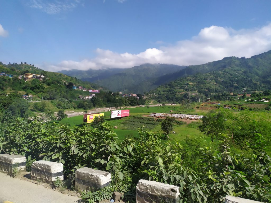 Nepal from the Bus